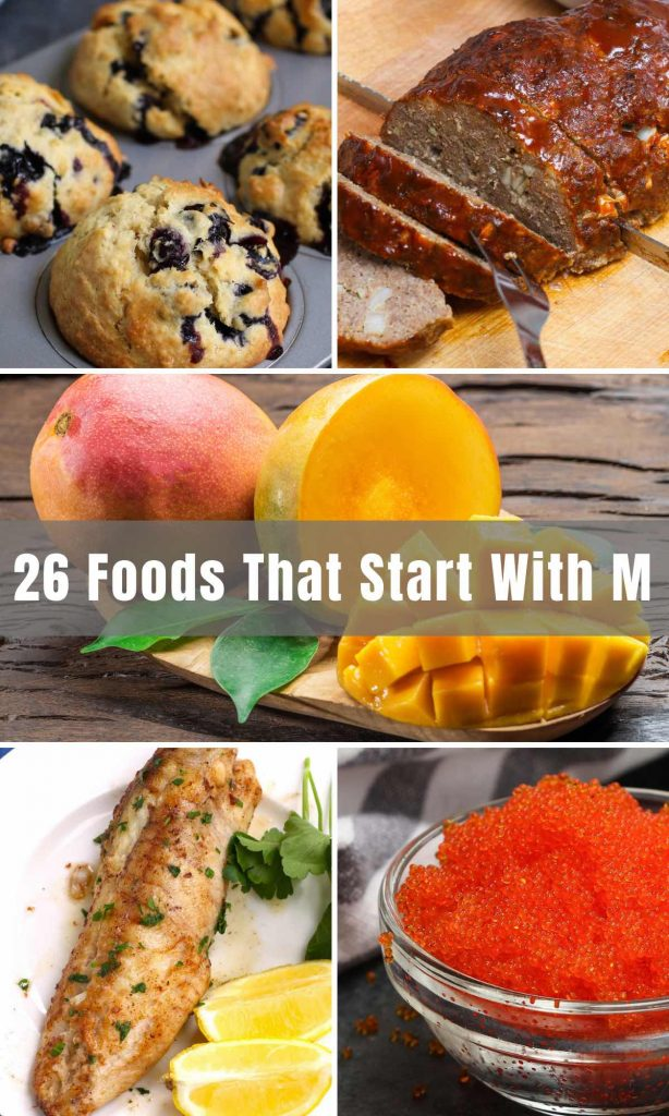 From melons to mocha and mango, the list of foods that start with M runs quite long! So we decided to start you off with some popular ones. Think of it as a jumpstart to learn something new about foods each day!