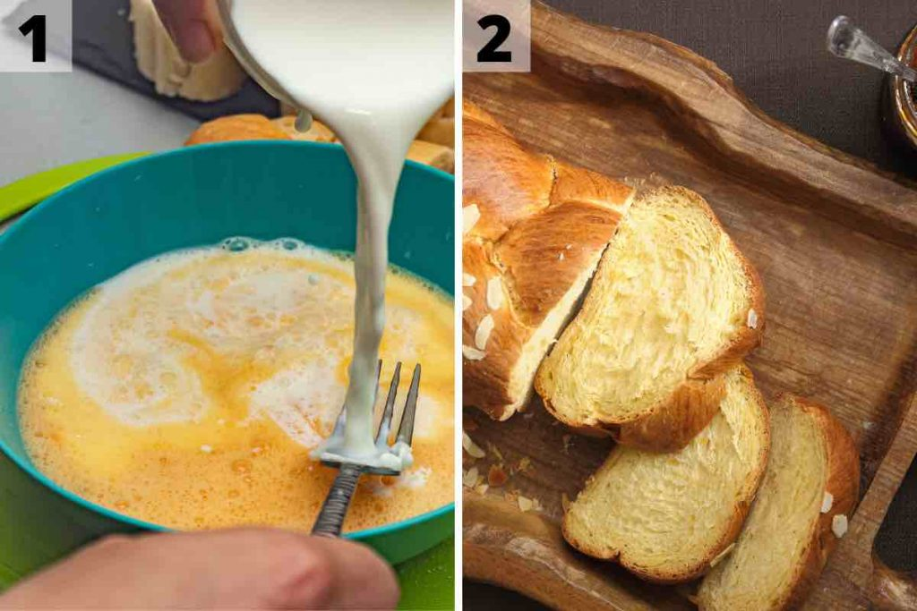 IHOP French Toast recipe: step 1 and 2 photos.