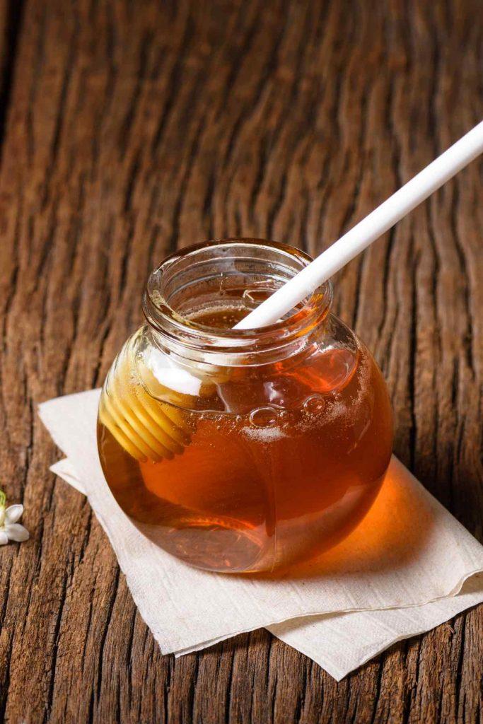 McDonald's honey