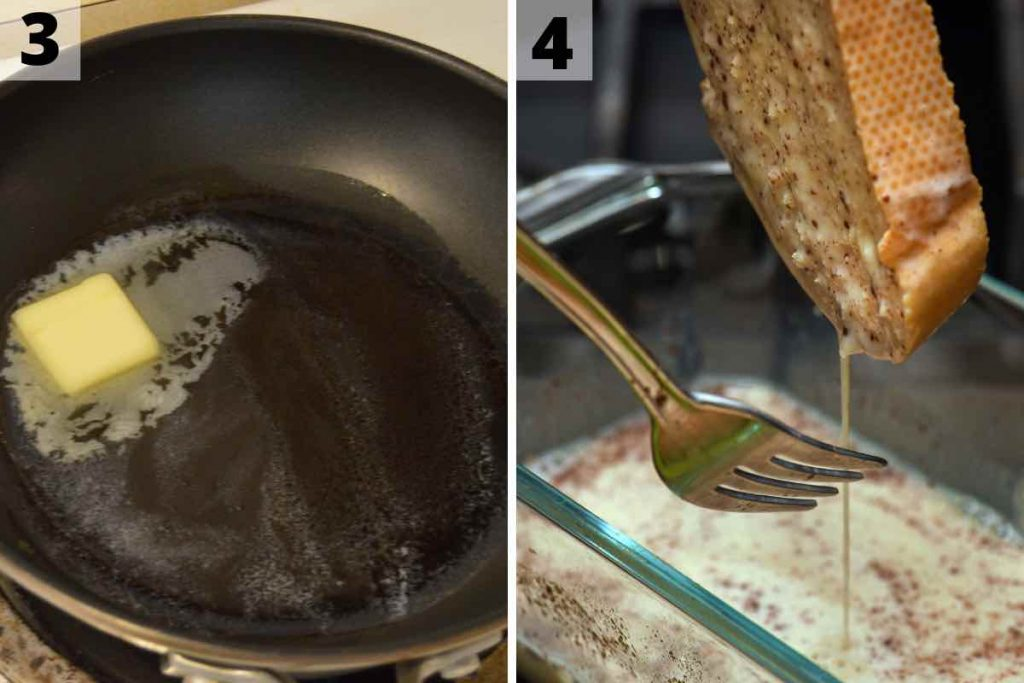 IHOP French Toast recipe: step 3 and 4 photos.