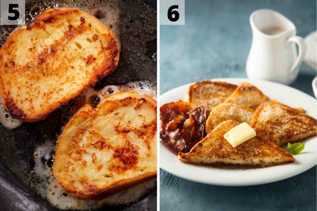 IHOP French Toast recipe: step 5 and 6 photos.