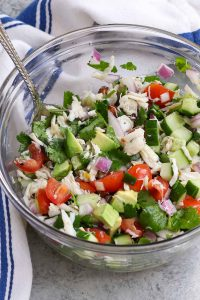 Refreshing, zesty and flavorful, Jaiba Ceviche is a tasty Mexican crab salad that's enjoyed by seafood lovers in many Latin American and Caribbean countries. Made with succulent crab meat, fresh lemon and lime juices and colorful Roma tomatoes, it's a perfect summer side dish. You can use real crab meat such as blue crab or imitation crab meat for this easy recipe.