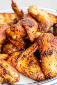 "Wingstop calls the Louisiana Rub a ""crispy dry rub with some Deep South Cajun love"". You'll call it your go-to seasoning for wing night! This medium-heat spice mix is super easy to prepare and will load up your wings with a ton of flavor. Pair it with a creamy Wingstop Ranch dipping sauce and it's a party hit!"