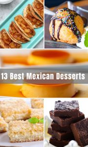 Best authentic Mexican Desserts all in one place! Warmed up, cooled down and everything in between – comer hasta (eat up)! You have likely heard of churros, but what about Fried Ice Cream or Rumchata Cakes? Or how about Apple Pie Tacos?