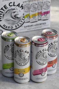 With the combination of seltzer water, a hint of fruit, and a dash of alcohol, White Claw is the perfect refreshing boozy beverage that we all love! After White Claw introduced Tangerine, Watermelon and Lemon in March 2020, strawberry, pineapple, and blackberry will join the White Claw Hard Seltzer Flavors in the new variety pack. Which flavor is best? Our favorites are still mango and black cherry.