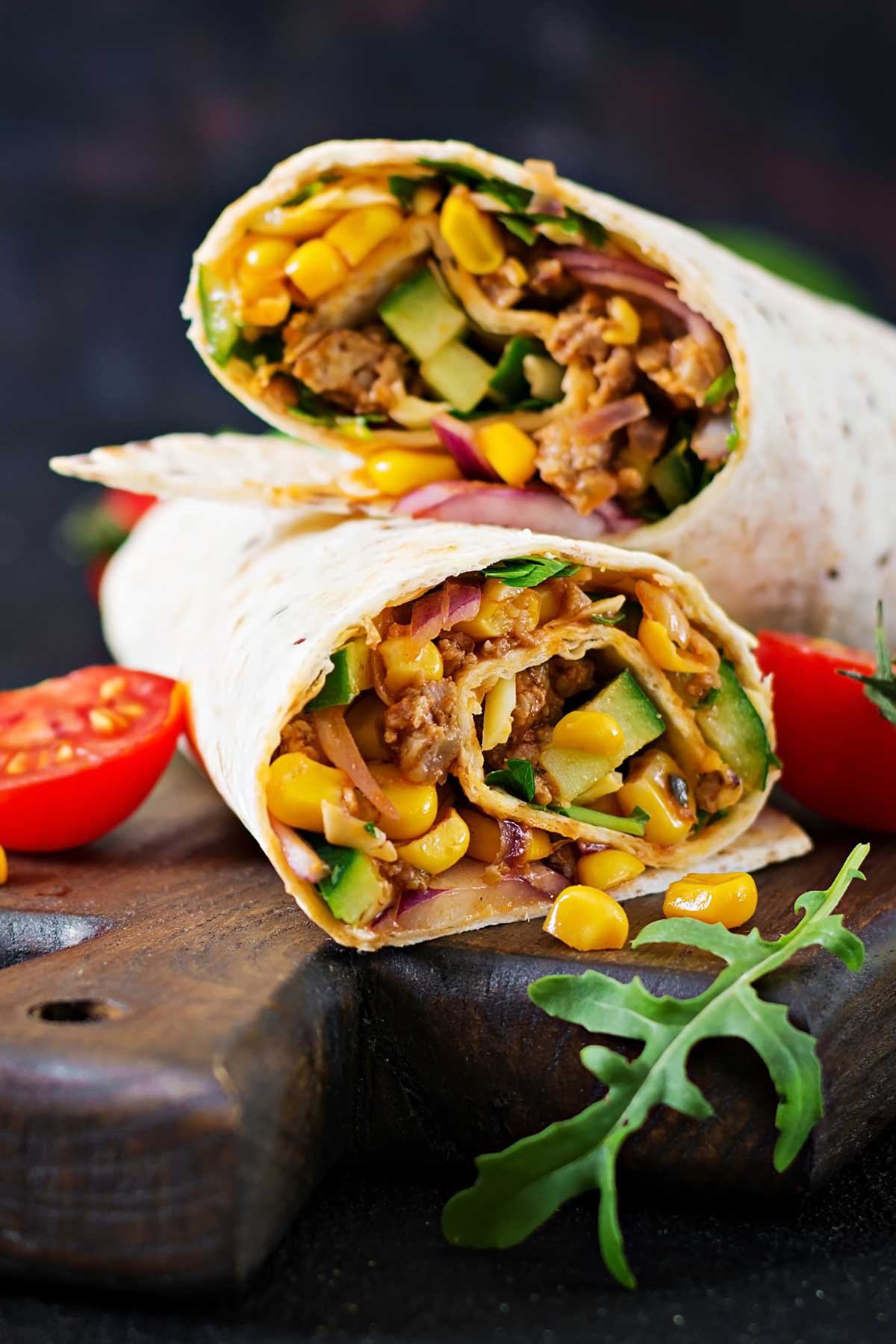Cooking Frozen Burrito in Air Fryer is the easiest way for a perfect lunch, dinner, or even breakfast. These air fryer frozen burritos are soft and flavorful on the inside and crispy on the outside. You can use this method to cook chimichanga too! Keep some frozen burritos in the freezer and you can satisfy your Mexican food cravings at any time!