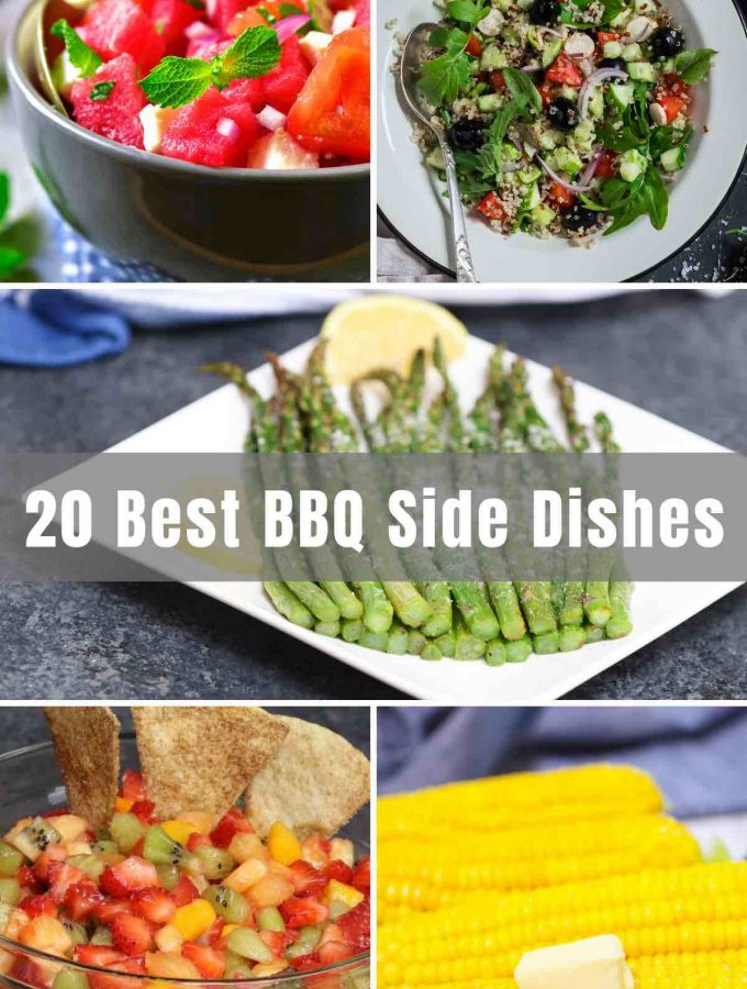 As important as what goes on your grill at a summer backyard cookout, BBQ Side Dishes may even top that. From corn on the cob, to coleslaw to mashed potatoes, we've collected some easy and the best barbeque sides to serve a crowd at a potluck party or make your backyard menu pop. With kids favorites too!