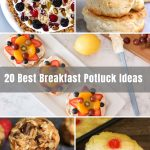 Looking for easy and crowd-favorite Breakfast or Brunch Potluck Ideas as you prepare for morning work gatherings or parties? We're about to take you through some best ideas from cold and hot, sweet and savory, healthy and comforting dishes – you'll be wanting to host a work gathering or party tomorrow!