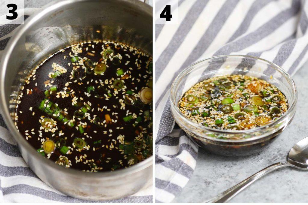 Bulgogi Sauce recipe: step 3 and 4 photos.