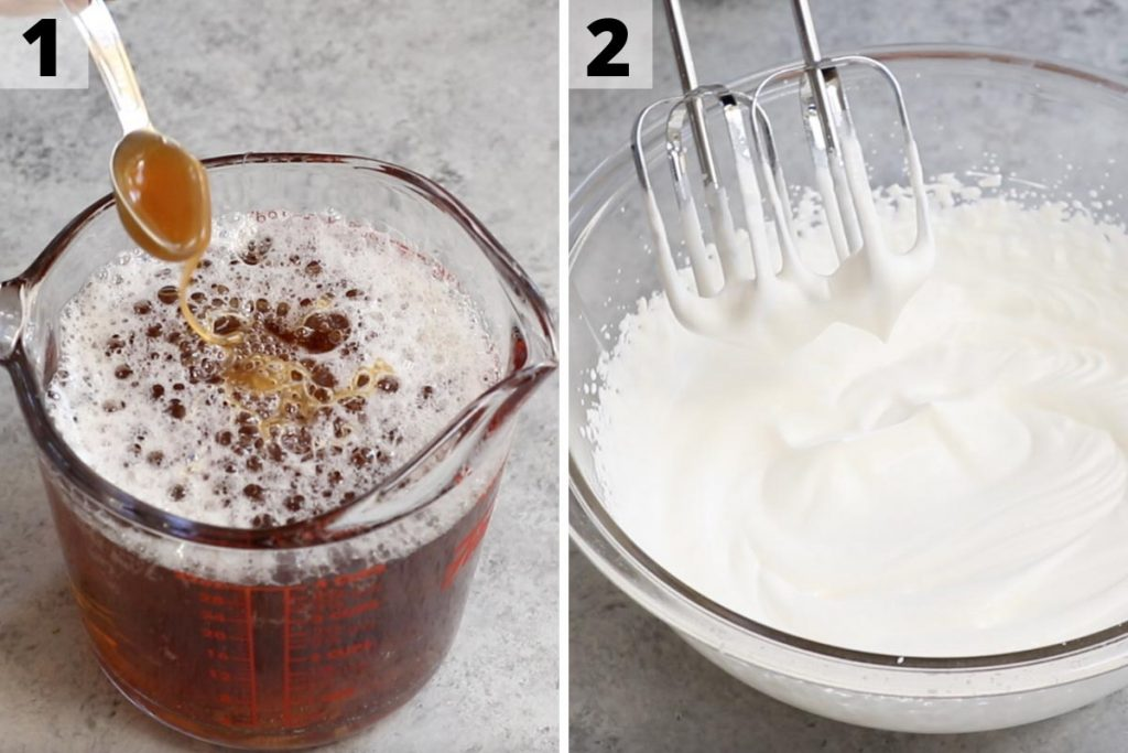 Butterbeer recipe: step 1 and 2 photos.