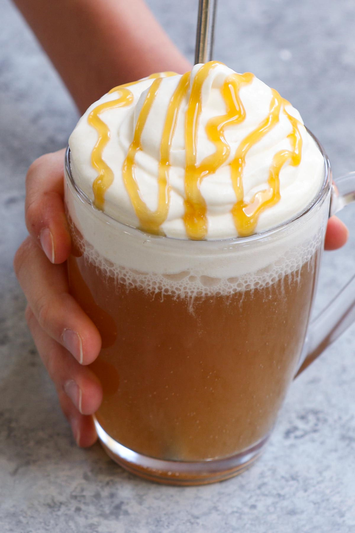 Add a little magic to your life with this recipe straight out of the Wizarding World. Contrary to what the name might imply, this Harry Potter Butterbeer is non-alcoholic, making it the perfect fun treat for the whole family to enjoy. It's made from cream soda topped with a butterscotch whipped cream and can be prepared in just a few minutes...almost like magic.