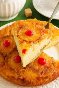 This Duncan Hines Pineapple Upside Cake is soft, fluffy, and moist. Made with Duncan Hines cake mix with a beautiful topping of caramelized pineapples and maraschino cherries, this classic recipe is so easy to prepare with a secret shortcut. It might be old-fashioned, but it's far from boring!