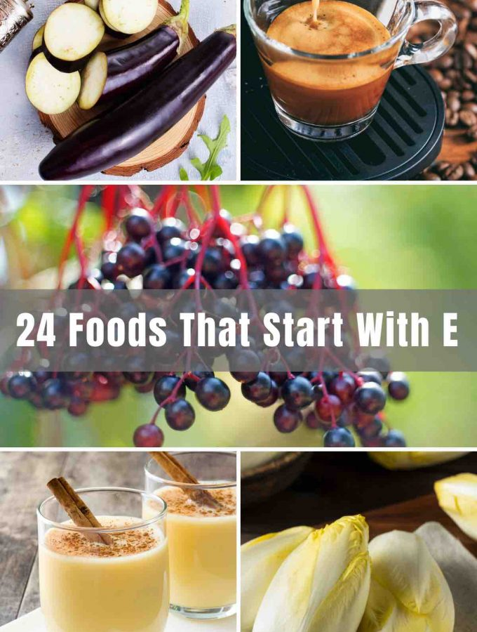 Whether you're looking for a snack, breakfast meal, fruit, or even a drink, we have plenty of 'Enticing' Foods that Start with E. You can 'Enjoy' them alone or even pair them together!