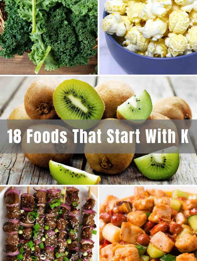 Ever find yourself playing word games with your friends, but getting stumped the moment you have to list things that start with a certain letter? This list is made specifically of delicious foods starting with the letter 'K', so you'll be prepared should the moment ever arise.