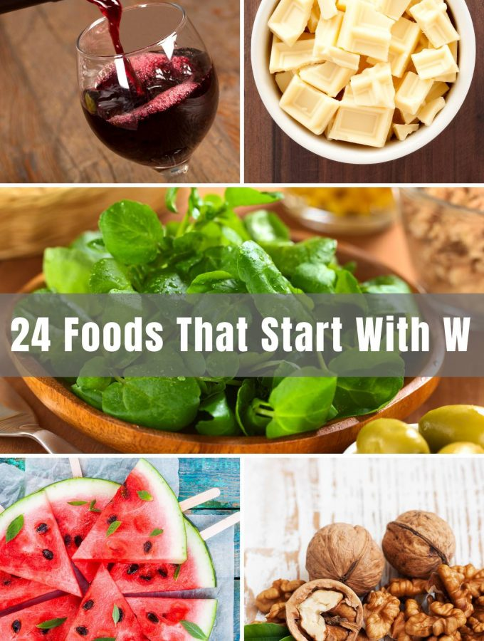Whether you're trying to win at trivia, or maybe teaching your kids about the alphabet, at some point, you may look for foods that start with a certain letter. 'W' isn't exactly an easy one to think of, but we've done the job for you with 24 delicious foods that start with 'W'.