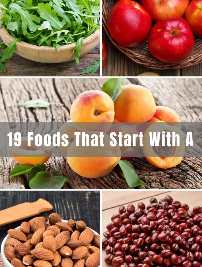 Your journey with foods that start with 'A' will take you from fruits to vegetables to sauces, to everything in between! You'll find that foods that start with 'A' are often very healthy for you as well. We hope you grade the list an 'A+'.