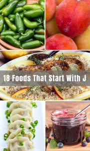 "Foods that start with ""J"". What first comes to mind? There may be a few listed below, but for the most part these may surprise you, or at least get your taste buds tingling or your belly begging for some of this deliciousness!"
