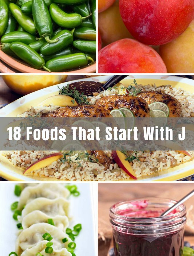 """Foods that start with """"J"""". What first comes to mind? There may be a few listed below, but for the most part these may surprise you, or at least get your taste buds tingling or your belly begging for some of this deliciousness!"""