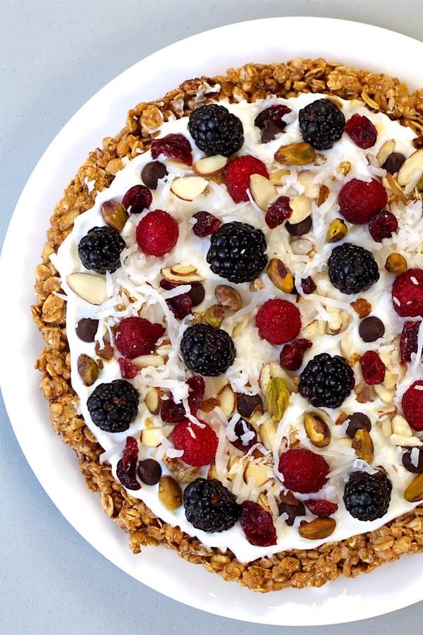 Granola Breakfast Pie