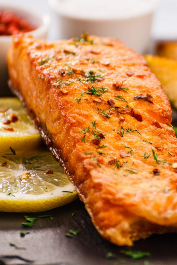 Griddle Salmon