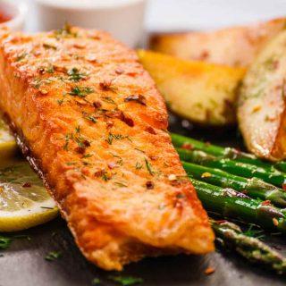 Griddle Recipes: Healthy Griddled Salmon