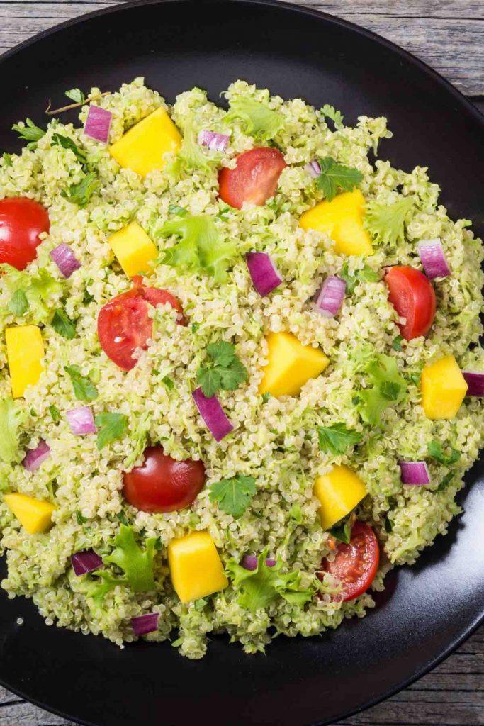 Guacamole Quinoa Salad