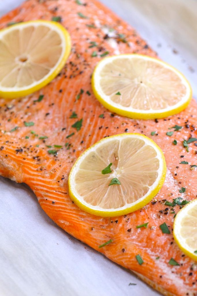 Baked Sockeye Salmon