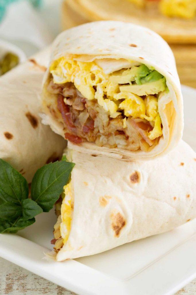 Steak and Potato Breakfast Burritos