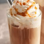 McDonald's Frappe is creamy, chocolatey, with the whipped cream on top, drizzled with more caramel or chocolate sauce. This blended-ice copycat drink has a hint of coffee, perfect to cool you down on hot summer days. Plus, there are 3 different flavors you can try: caramel, mocha, or chocolate chip.