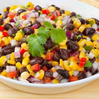Black Bean Salad is one of the best Mexican Appetizers. You can make it ahead of the time, perfect for a summer cookout!