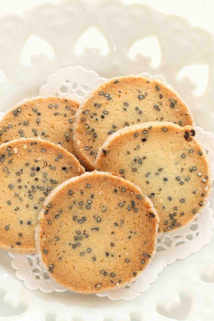 Black Sesame Seeds Cookies