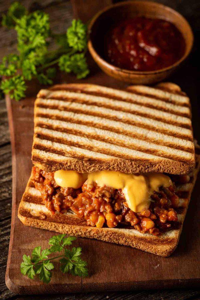 Canned Corned Beef Sandwich