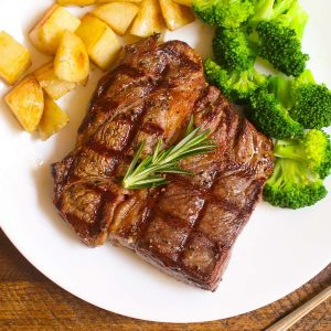 Grilled Chuck Eye Steak is tender and juicy, one of the best chuck steak recipes.
