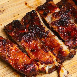 Air Fryer BBQ Ribs recipe is one of the best Friday dinner ideas. Quick, easy, and full of flavor.
