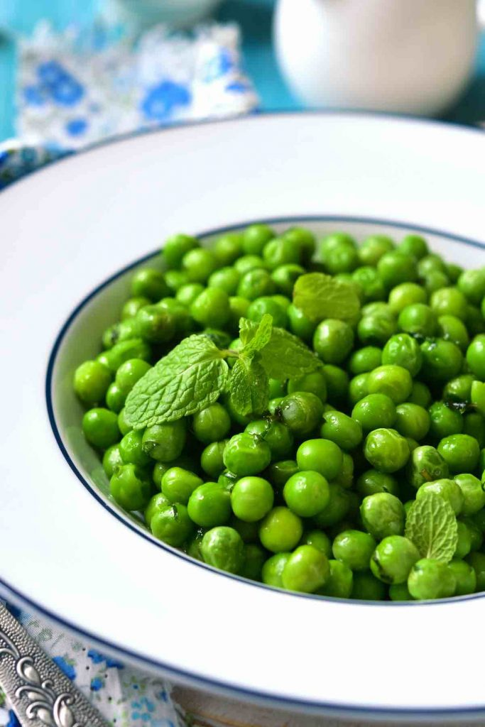 Green Peas with Mint