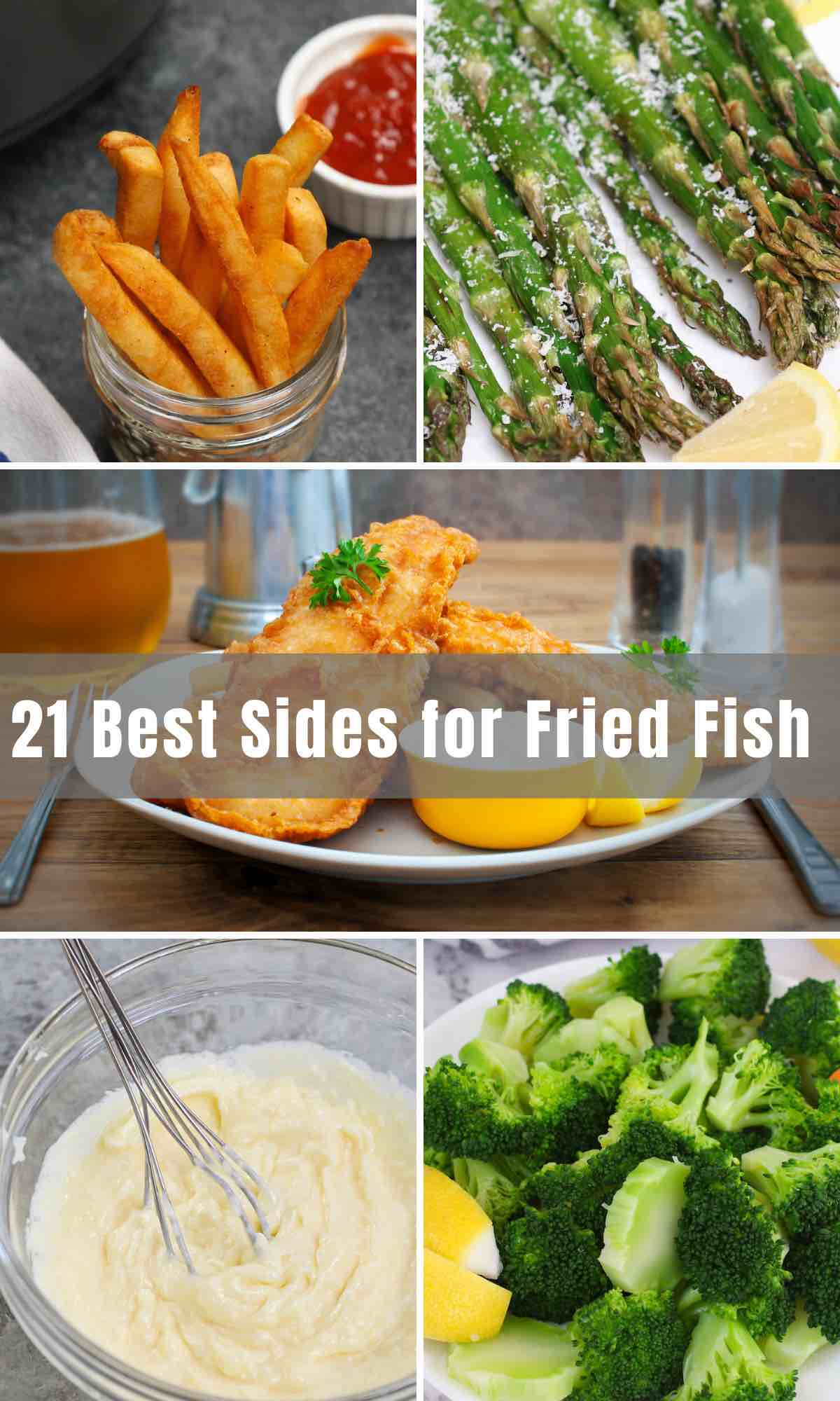 If you are preparing for a fried fish dinner, you definitely won't run out of options when following the list of Best Sides Fried Fish below. From healthy side dishes to vegetable side dishes, to sides for southern style fish or fried catfish, we'll give you some finger-licking and fun suggestions on what goes best and what tastes best with your fish dish.