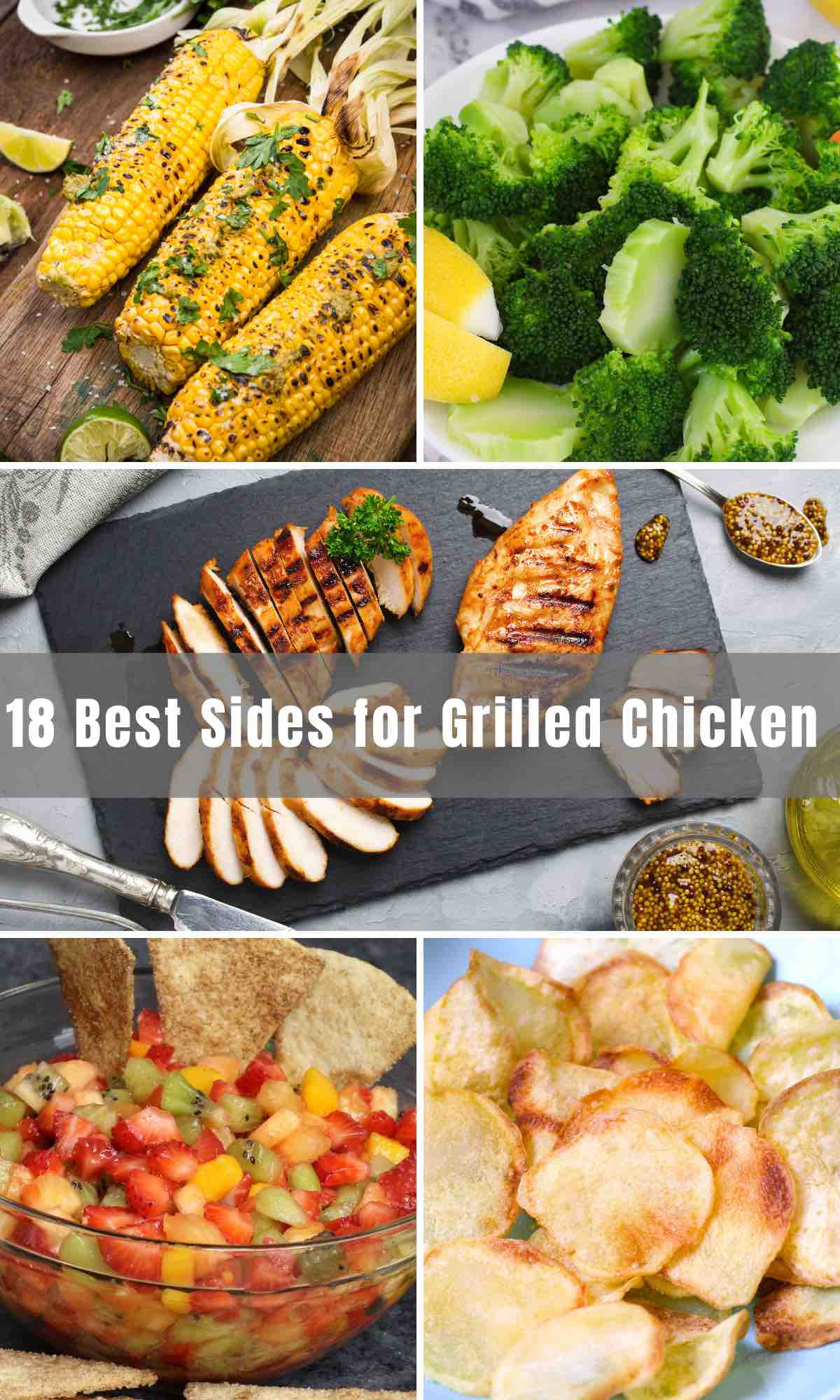 When preparing a summer BBQ, you know that the delicious side dishes will take your grilling experience to the next level. We've collected 18 best and easy Sides for Grilled Chicken, or steaks! From healthy sides like salads to traditional favorites like French fries, we've thrown in a few choices you would have never, ever, imagined.