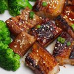 There's nothing quite as delectable as tender, succulent Honey Garlic Sous Vide Pork Belly. This thick and meaty cut of pork is popular in Asian cuisine. The sous vide method cooks pork belly perfectly, and a quick sear makes the skin crispy and packed with all the umami goodness of sizzling bacon.