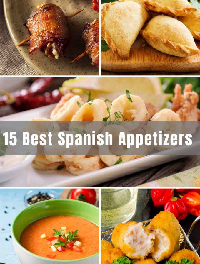 Looking for easy and delicious Spanish Appetizers? From Gazpacho to Spanish meatballs, I've compiled a list of authentic Spanish starters that you can make yourself to host your own tapas night at home!