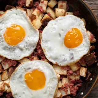 Canned Corned Beef Hash is one of the best and most popular canned corned beef recipes.
