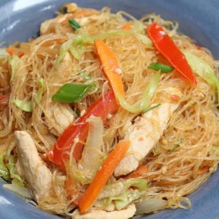 Pad Woon Sen is one of the best rice noodle recipes. It's delicious and flavorful. Ready in 30 minutes.