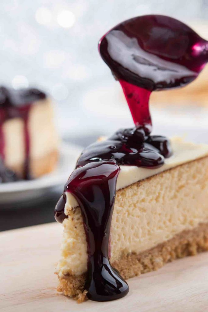 These 15 Easy Cheesecake Toppings will take your love for cheesecake to a new level! We're talking tons of toppings – Strawberry sauce, sour cream, blueberry, cherry, and even Oreo cookies. They'll keep your family and guests coming back for more!