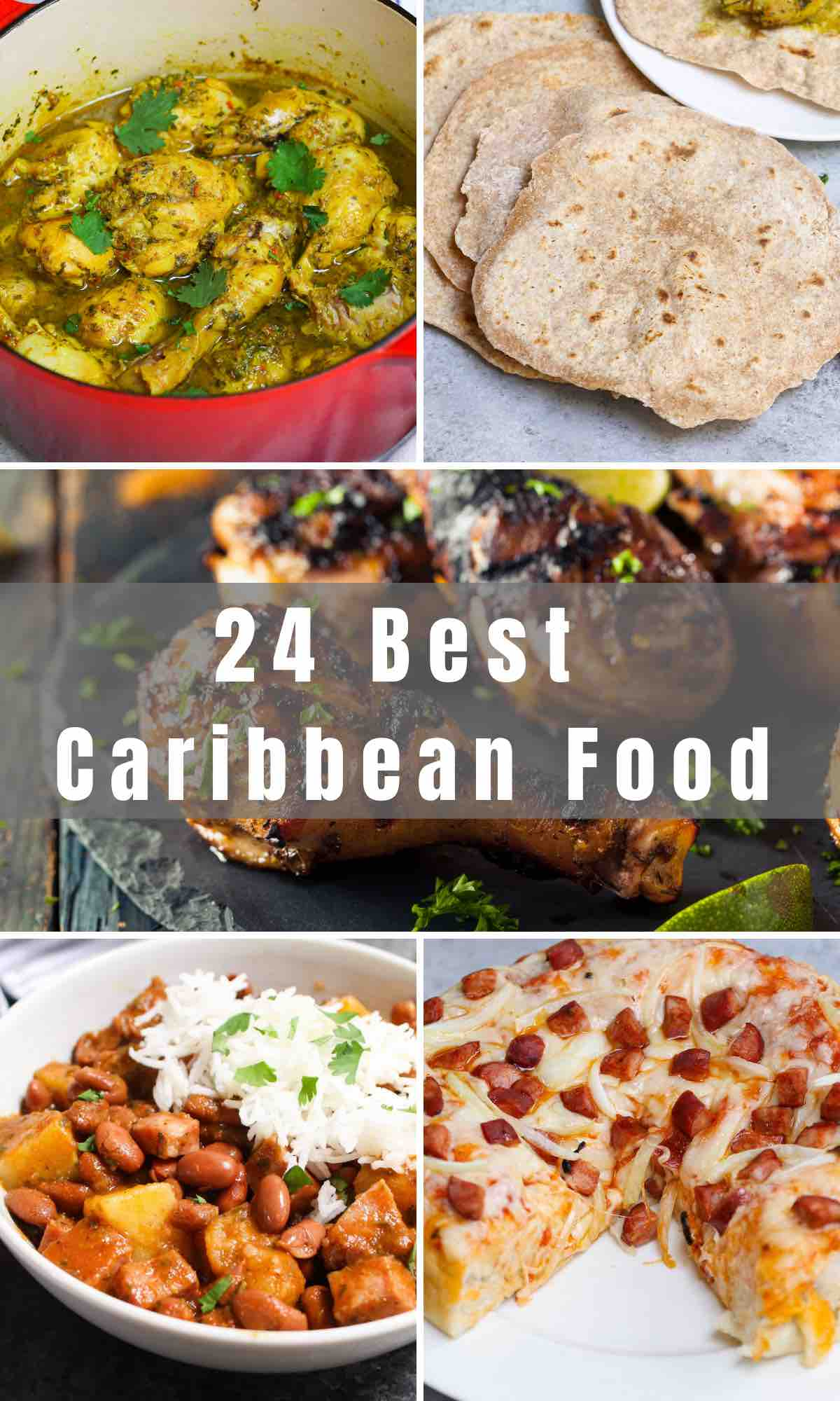 Each country in the Caribbean has its own unique culture and there are so many delicious meals to try! When traveling isn't an option, why not recreate some authentic Caribbean Food dishes at home?  Whether you'd like to visit Jamaica, Trinidad, or Cuba, these recipes will transport you to the islands with all the flavor and spice you could ever need!