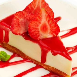 Strawberry Topping for Cheesecake is one of my favorite cheesecake toppings. Made with fresh or frozen strawberries, this recipe is quick and easy, and you can use the sauce on cheesecakes, biscuits, pancakes, and ice cream.