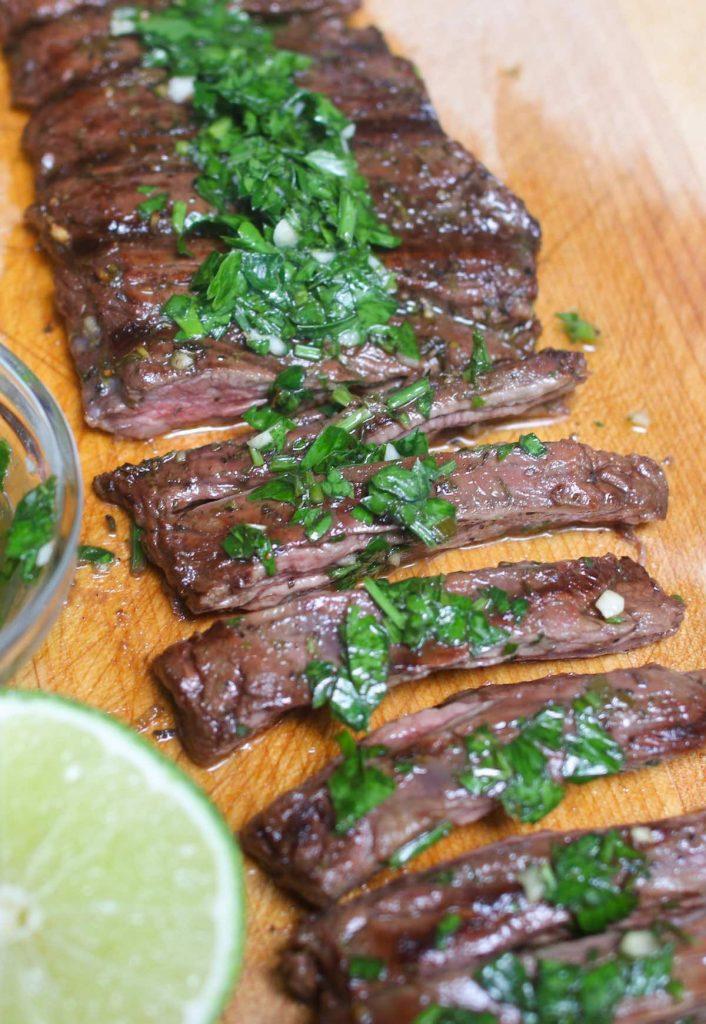 Grilled Marinated Steak