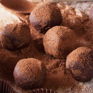 Whiskey Truffles are one of the most popular Irish Desserts. They are sweet, creamy, chocolatey with an amazing whiskey flavor.
