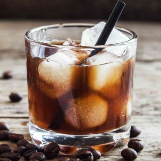Black Russian is one of the most popular Kahlua Drinks. Made with coffee liqueur and vodka, this drink is smooth and delicious.
