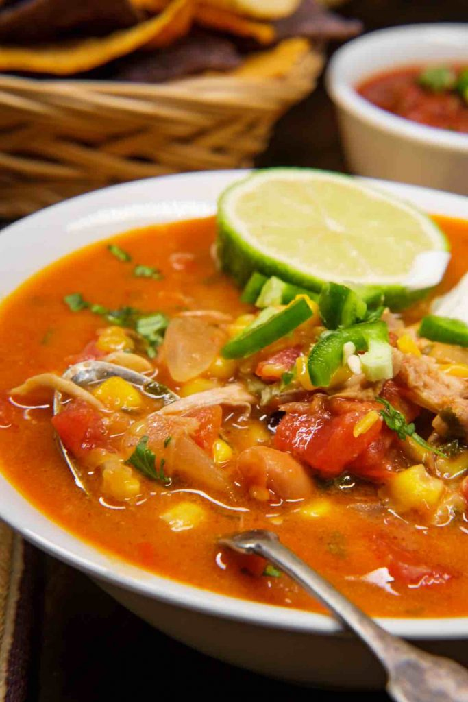 There are so many things to love about Mexican food, especially when it comes to soup. We've rounded up 21 Best Mexican Soup Recipes for Cinco De Mayo, your next Taco Tuesday, or a simple wholesome dinner or appetizer. From Mexican chicken soup to meatball soup, tortilla soup, and beef soup, you'll find something that your whole family loves.