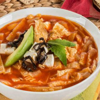 Chicken Tortilla Soup is one of the best Mexican soup recipes. Great or an easy weeknight meal, and it's so flavorful!
