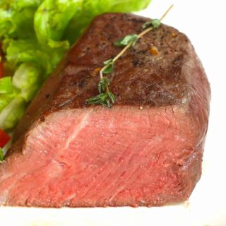 Filet Mignon is one of the easiest Romantic Dinner Ideas you can make at home. It's super tender, juicy, and full of flavor.